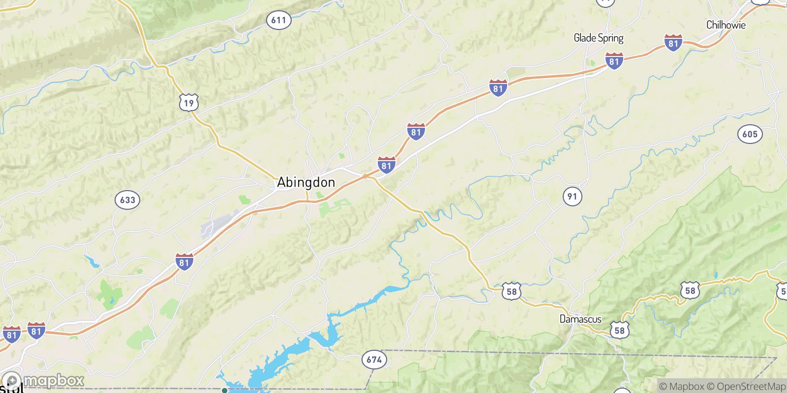The best camping near Ashleys, Virginia