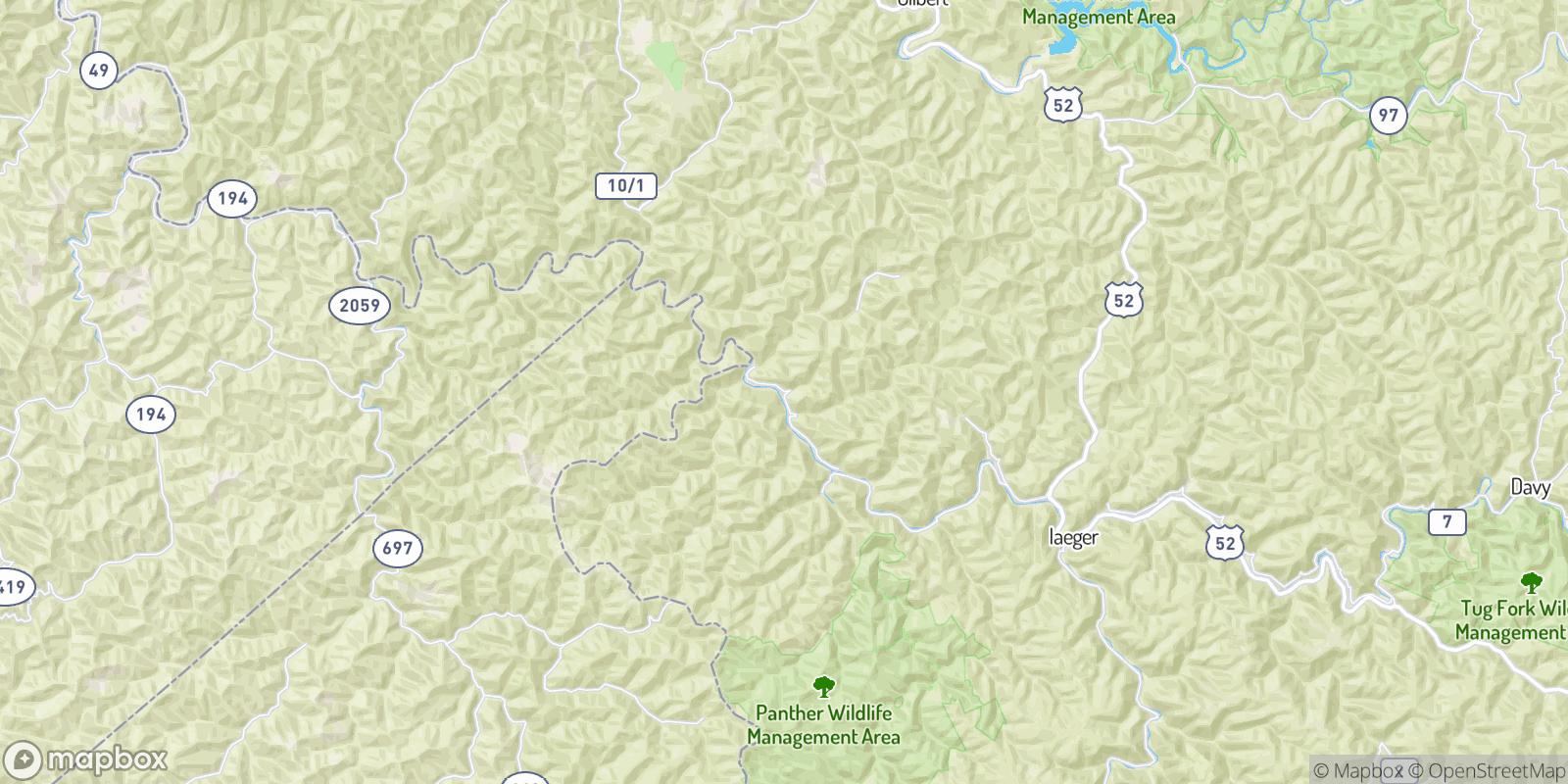 The best camping near Mohawk, West Virginia