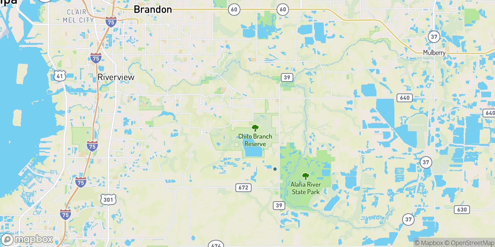 The best camping near Doe Creek Reserve, Florida