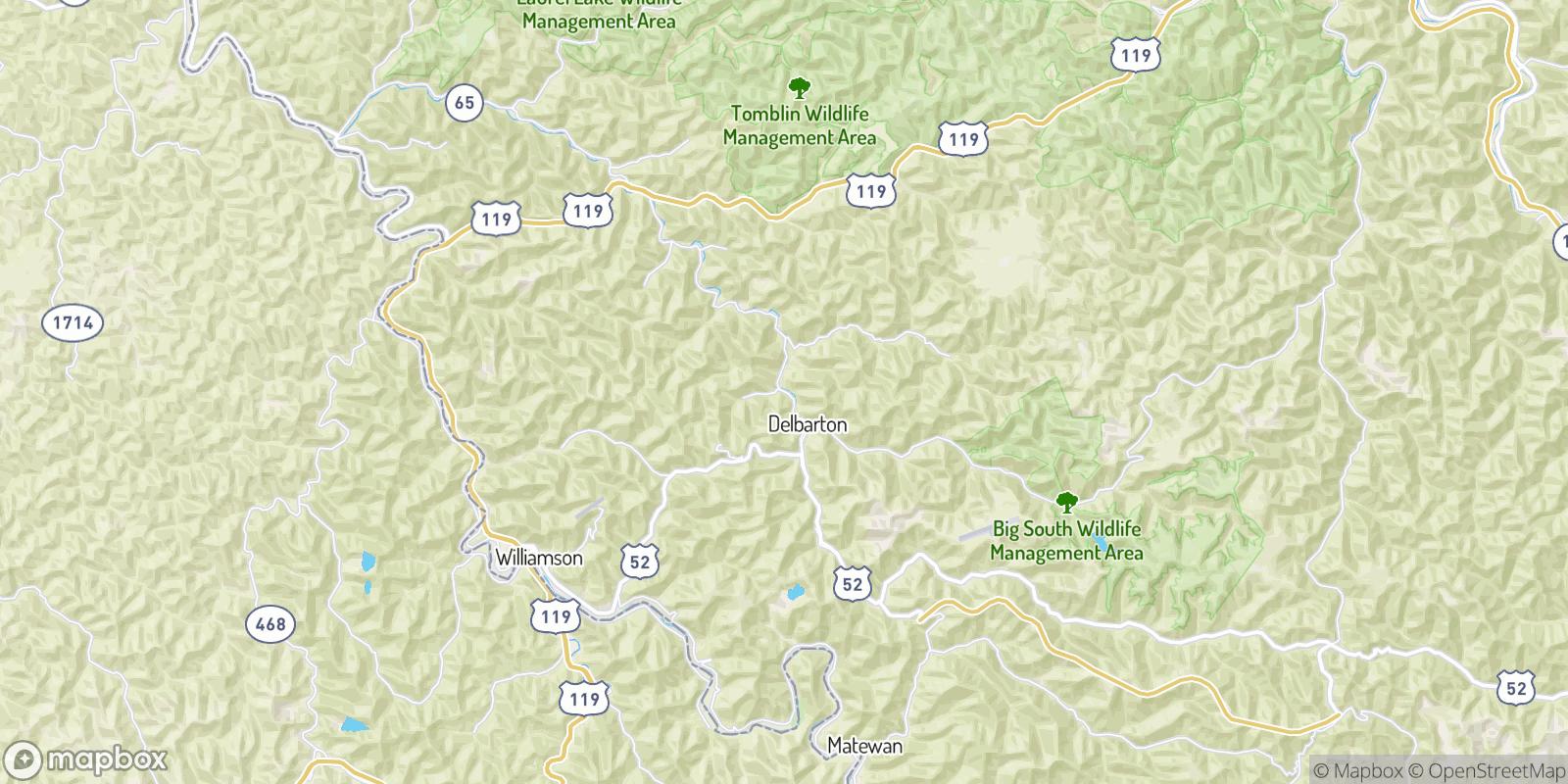 The best camping near Burch, West Virginia