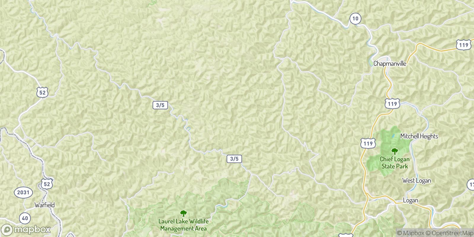 The best camping near McCloud, West Virginia