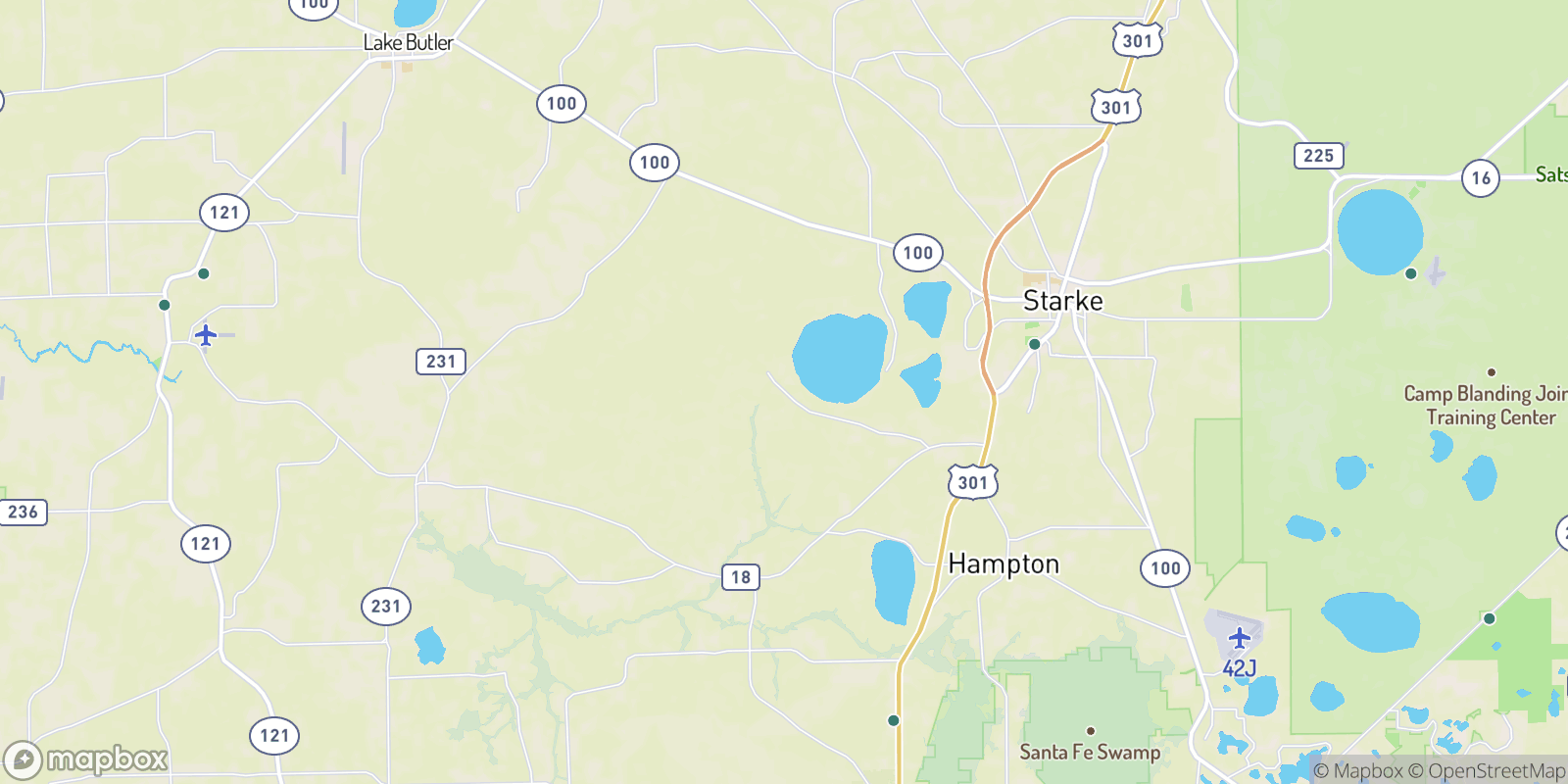 The best camping near Sampson, Florida