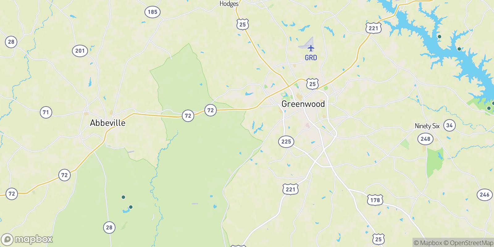 The best camping near McCombs, South Carolina
