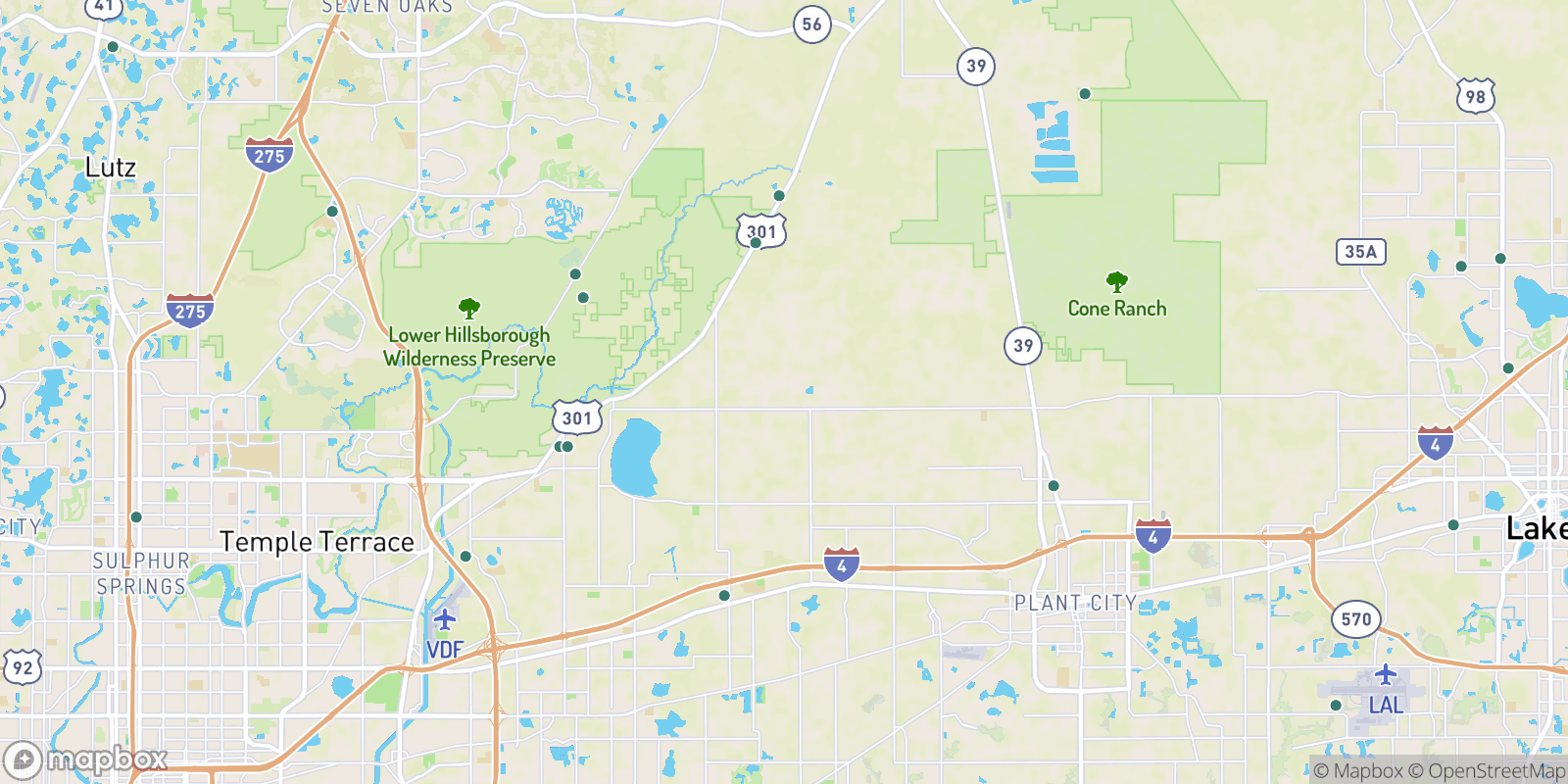 The best camping near Schiffers Acres, Florida