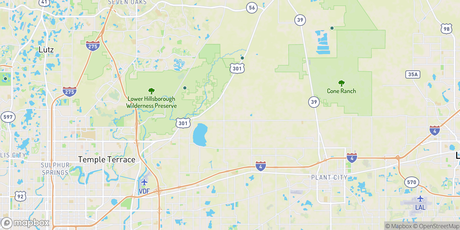 The best camping near Marys Woods, Florida