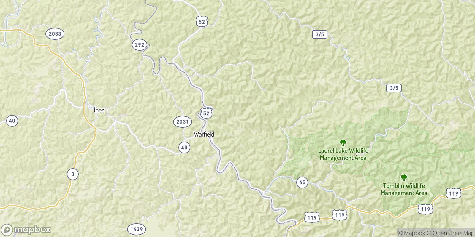 The best camping near Selwyn, West Virginia