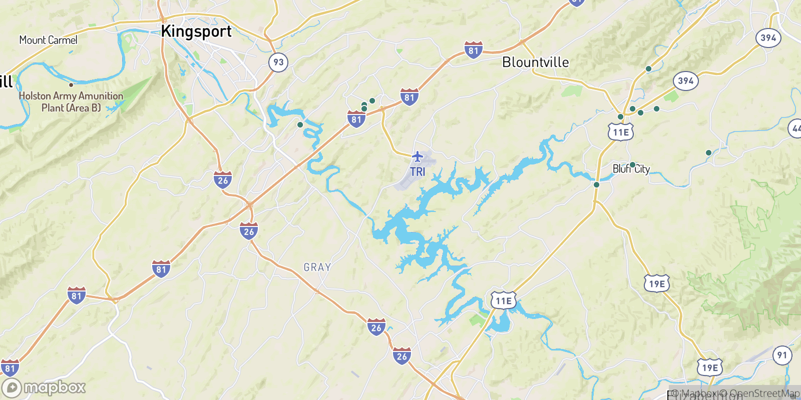 The best camping near Boring, Tennessee