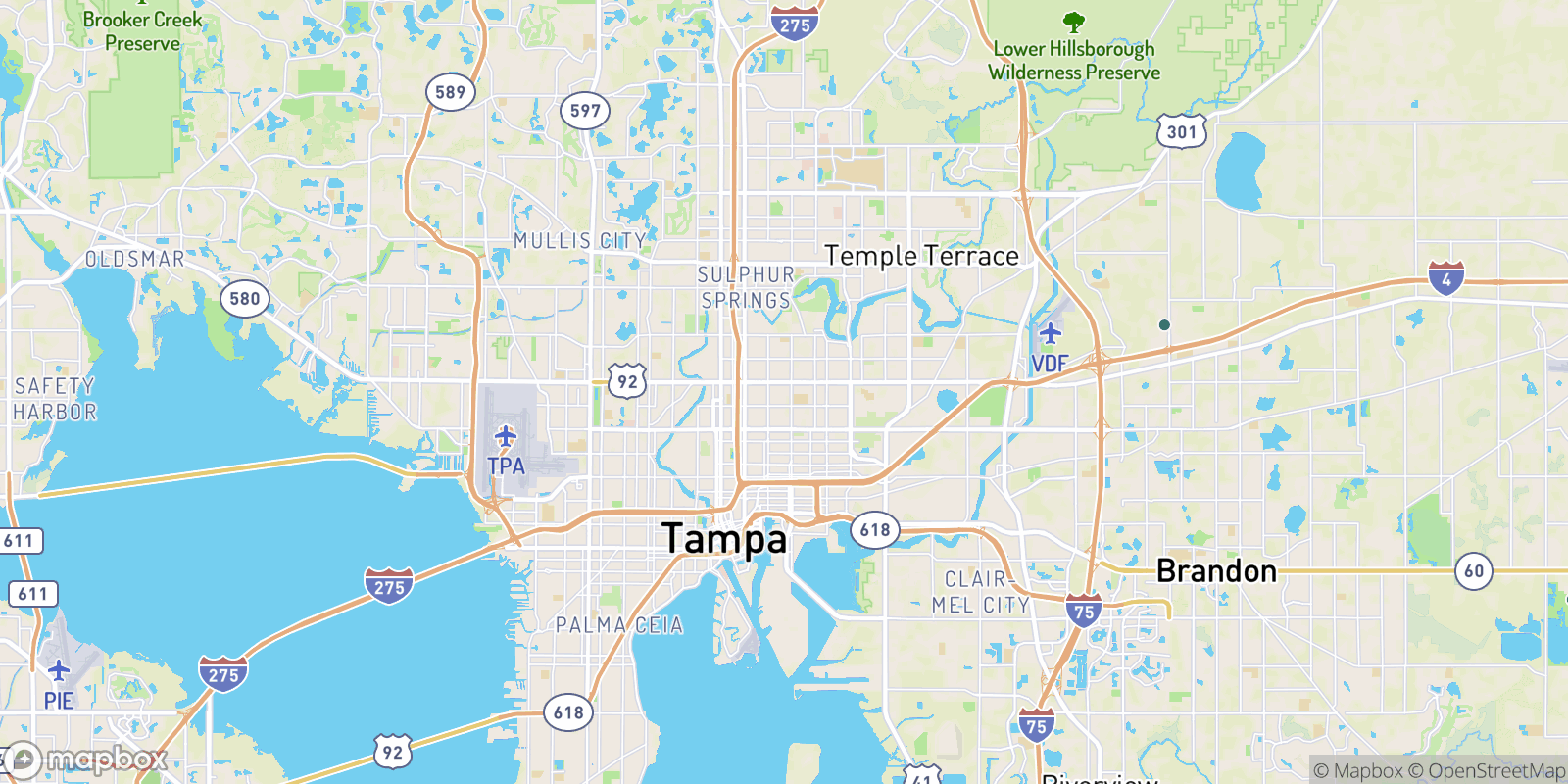 The best camping near Tampa Gardens, Florida