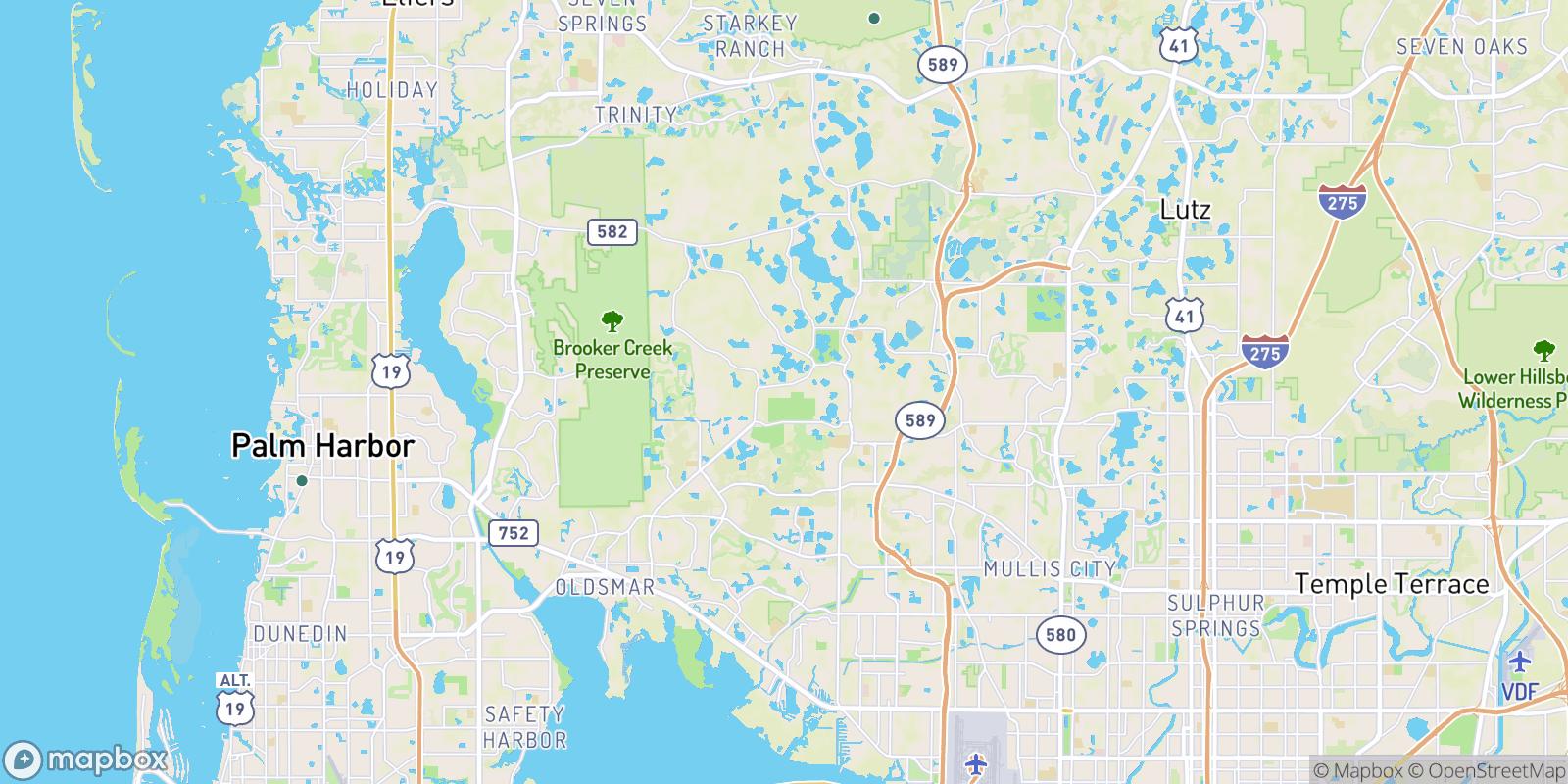 The best camping near Horseshoe Estates, Florida