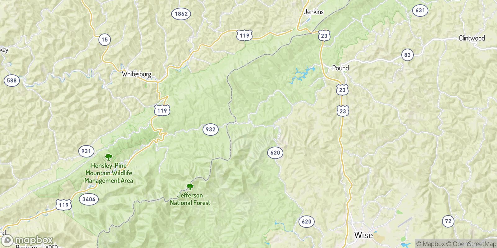 The best camping near Flat Gap, Virginia
