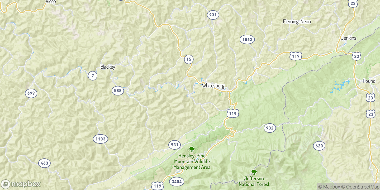 The best camping near Ice, Kentucky