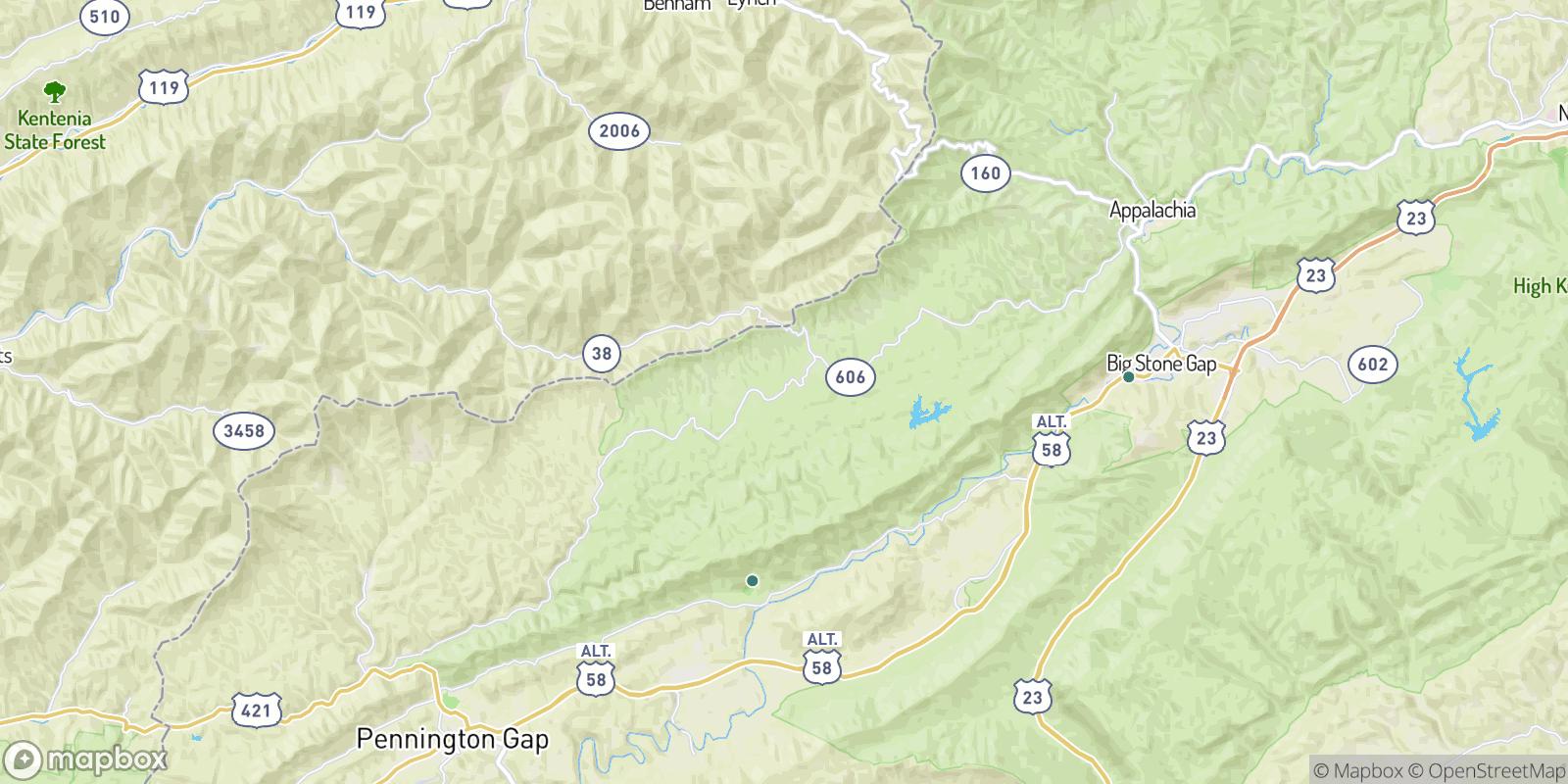 The best camping near Rawhide, Virginia