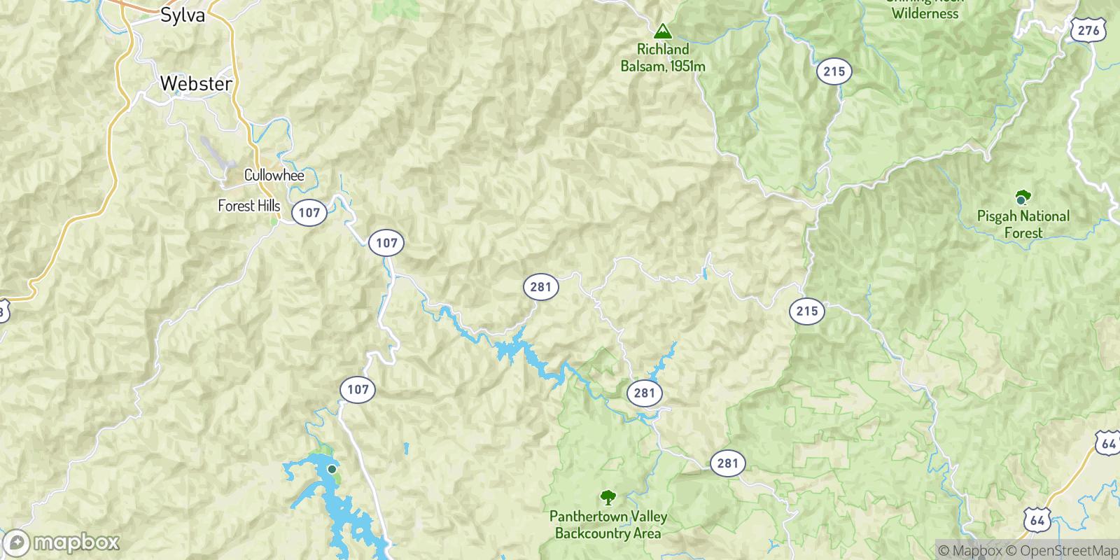 The best camping near Argura, North Carolina