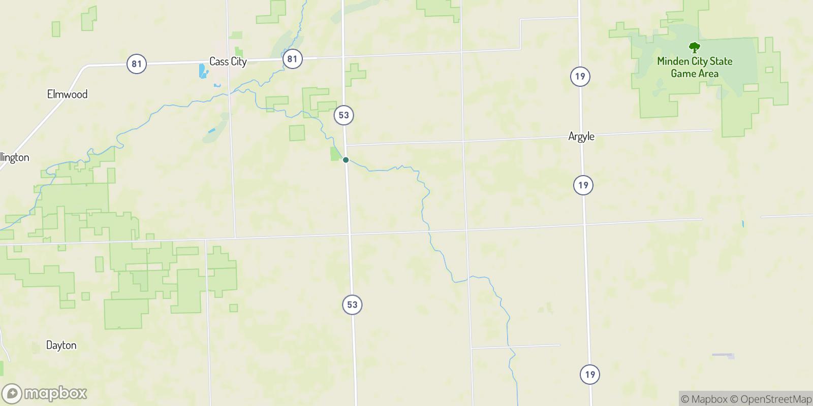 The best camping near Shabbona, Michigan