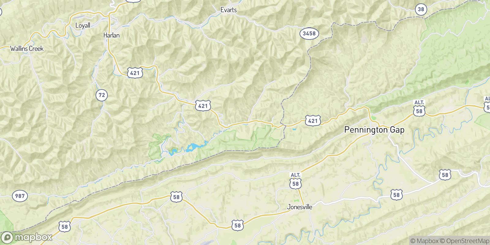 The best camping near Cranks, Kentucky