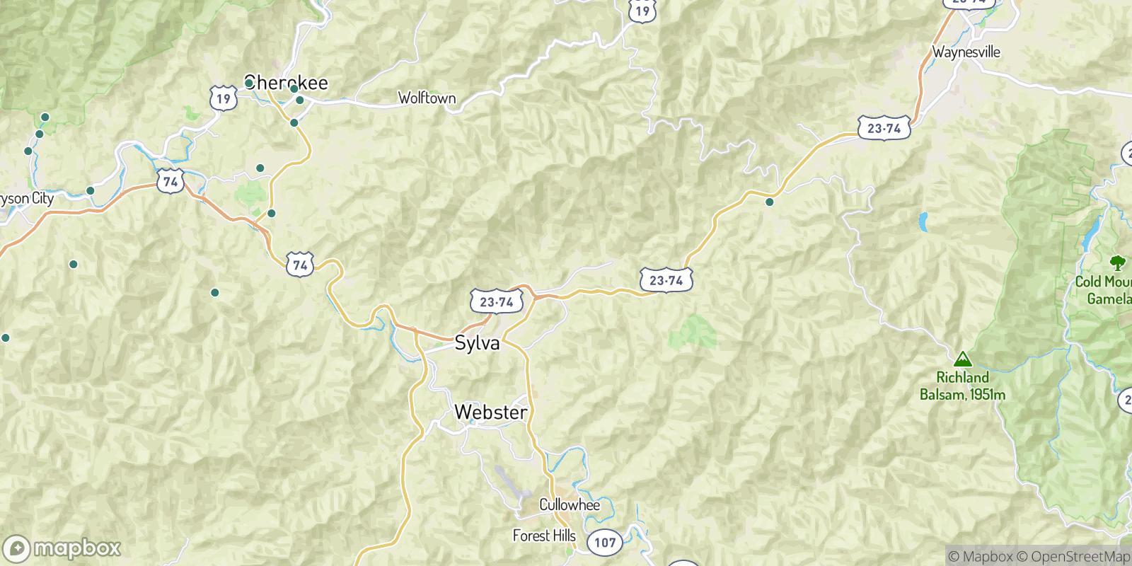 The best camping near Foster, North Carolina