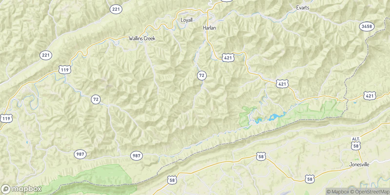 The best camping near Stanfill, Kentucky