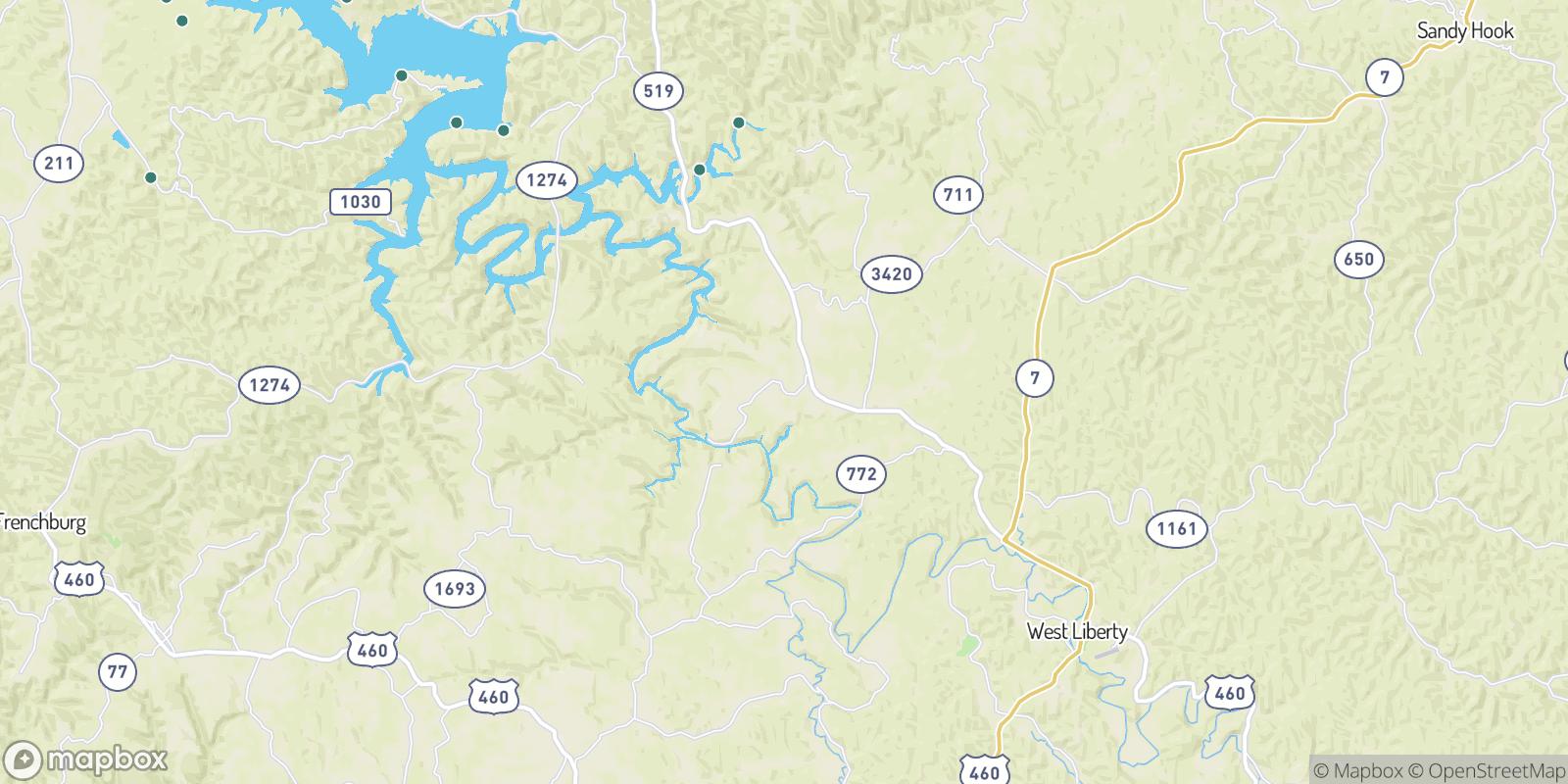 The best camping near Zag, Kentucky