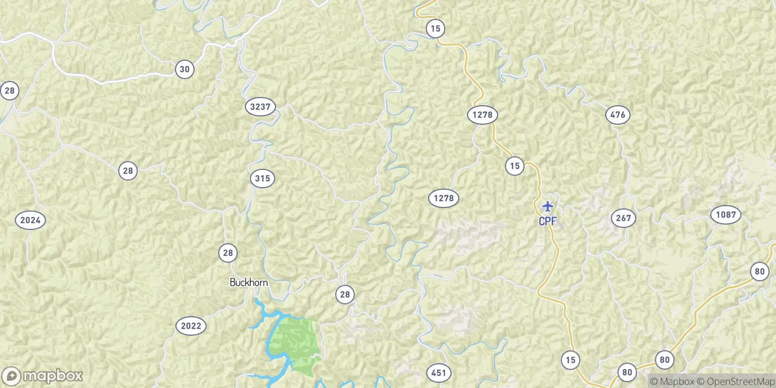 The best camping near Wolf Coal, Kentucky