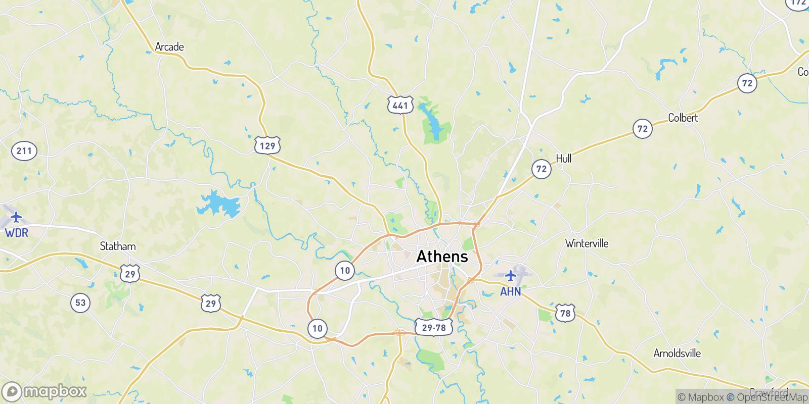 The best camping near Rollingwood, Georgia