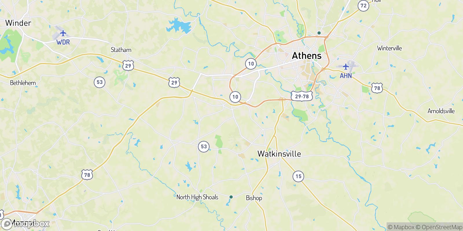 The best camping near Den Court, Georgia