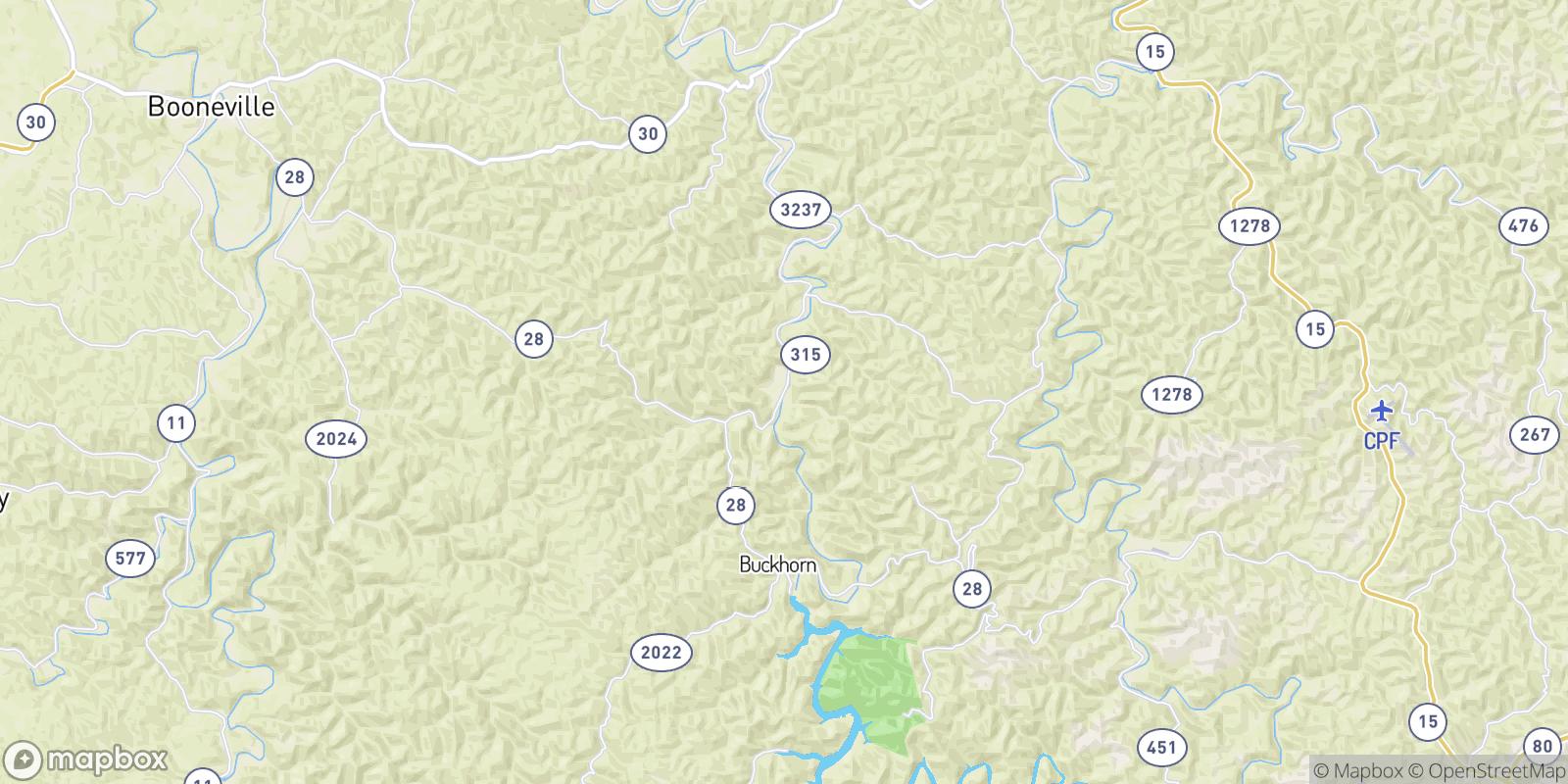 The best camping near Crockettsville, Kentucky