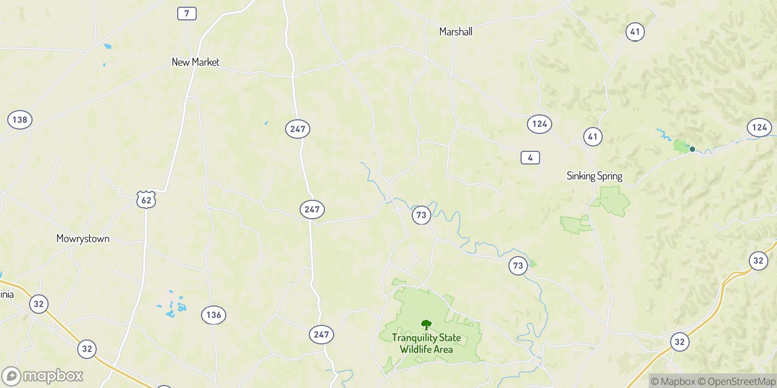 The best camping near Belfast, Ohio