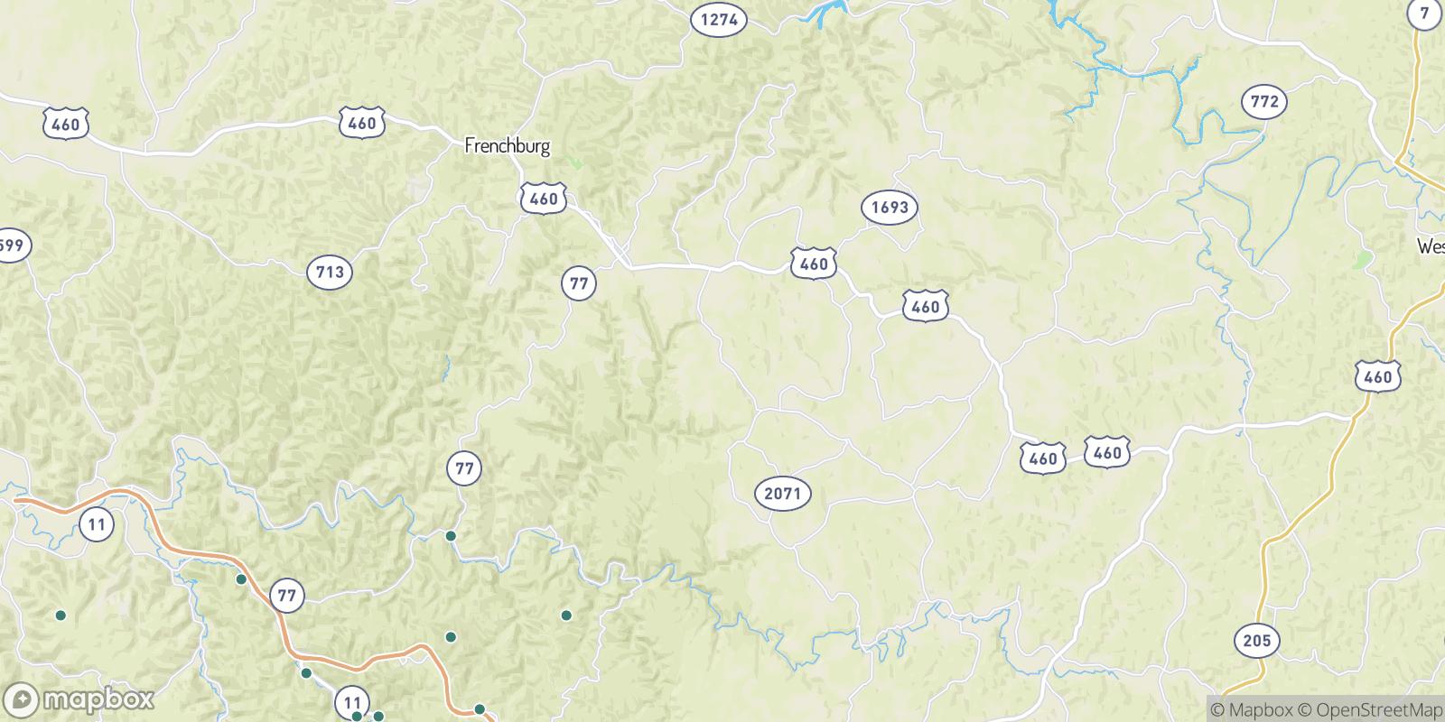 The best camping near Trimble Bend, Kentucky