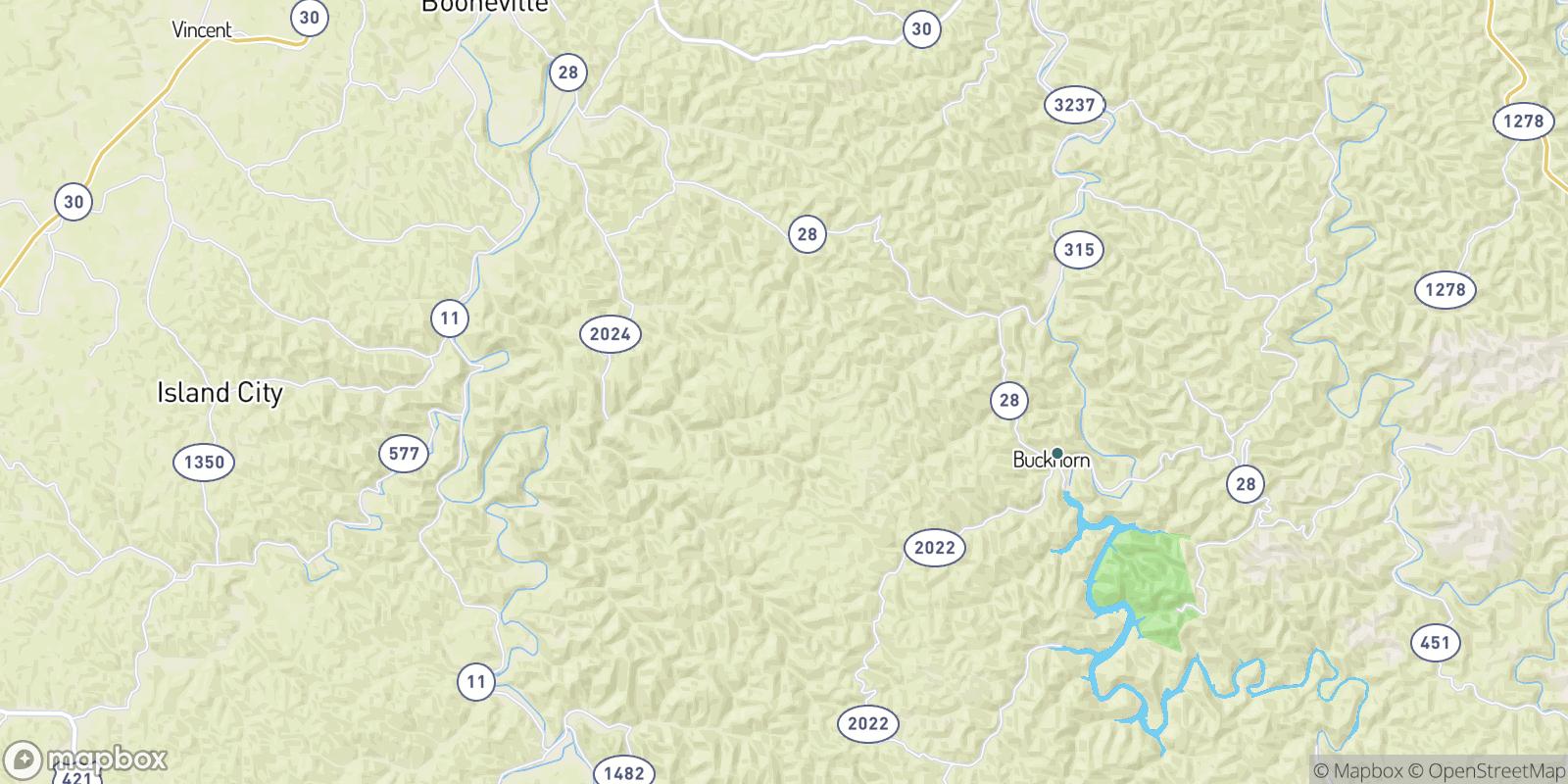The best camping near Lucky Fork, Kentucky