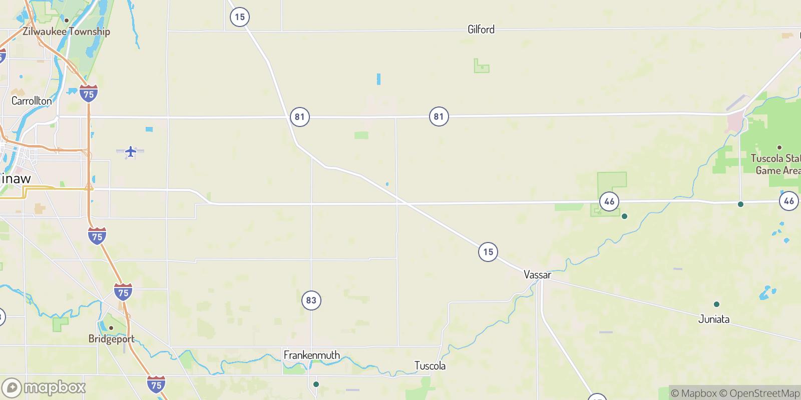 The best camping near Richville, Michigan