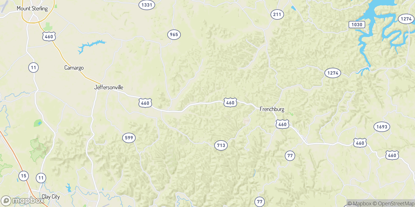 The best camping near Cornwell, Kentucky