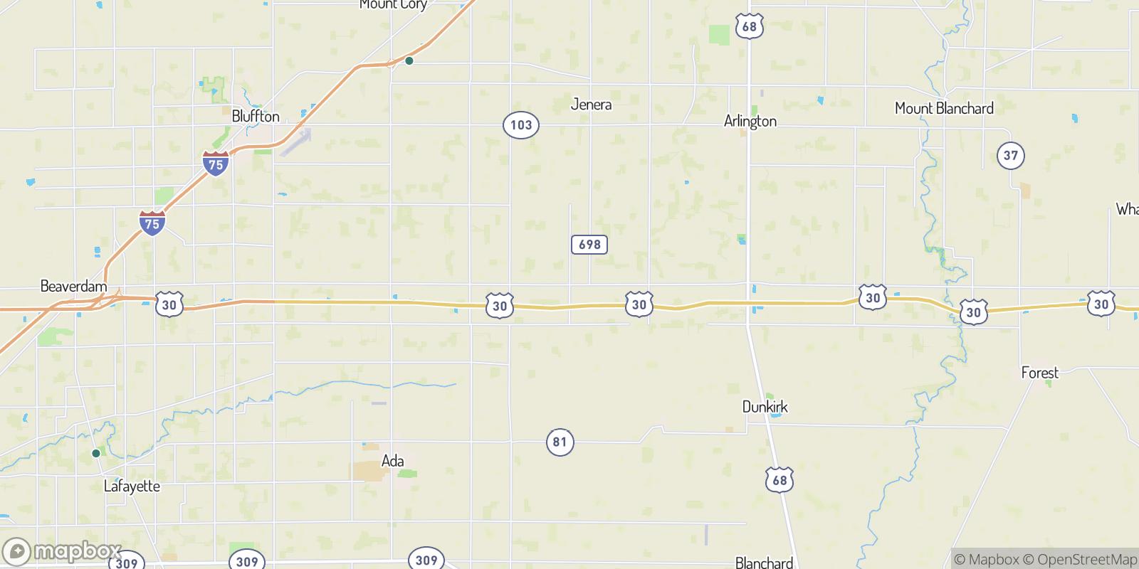 The best camping near New Stark, Ohio