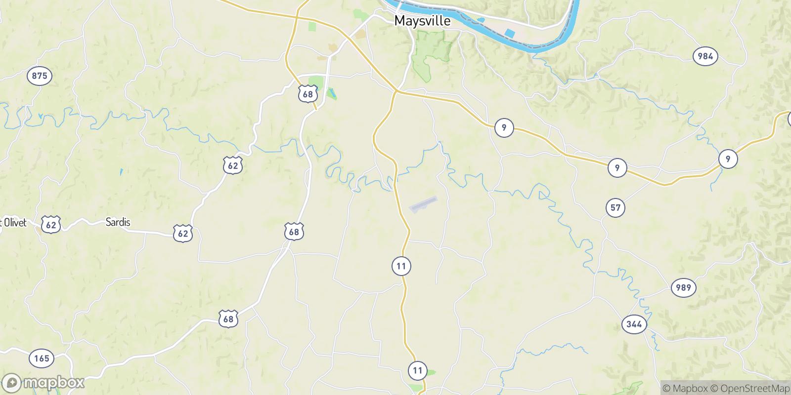 The best camping near Marshall, Kentucky
