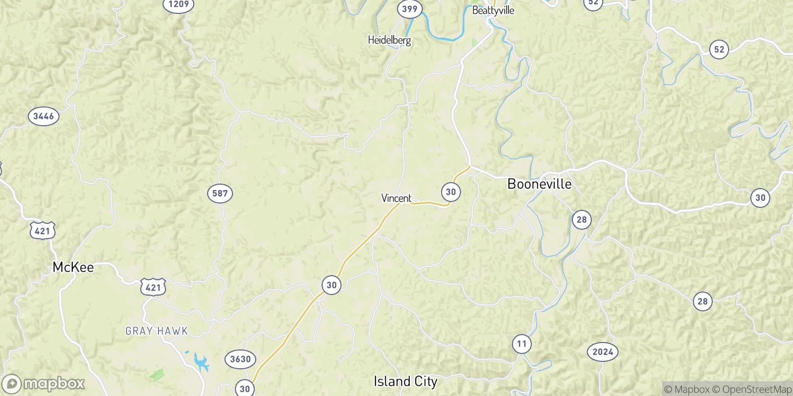 The best camping near Vincent, Kentucky