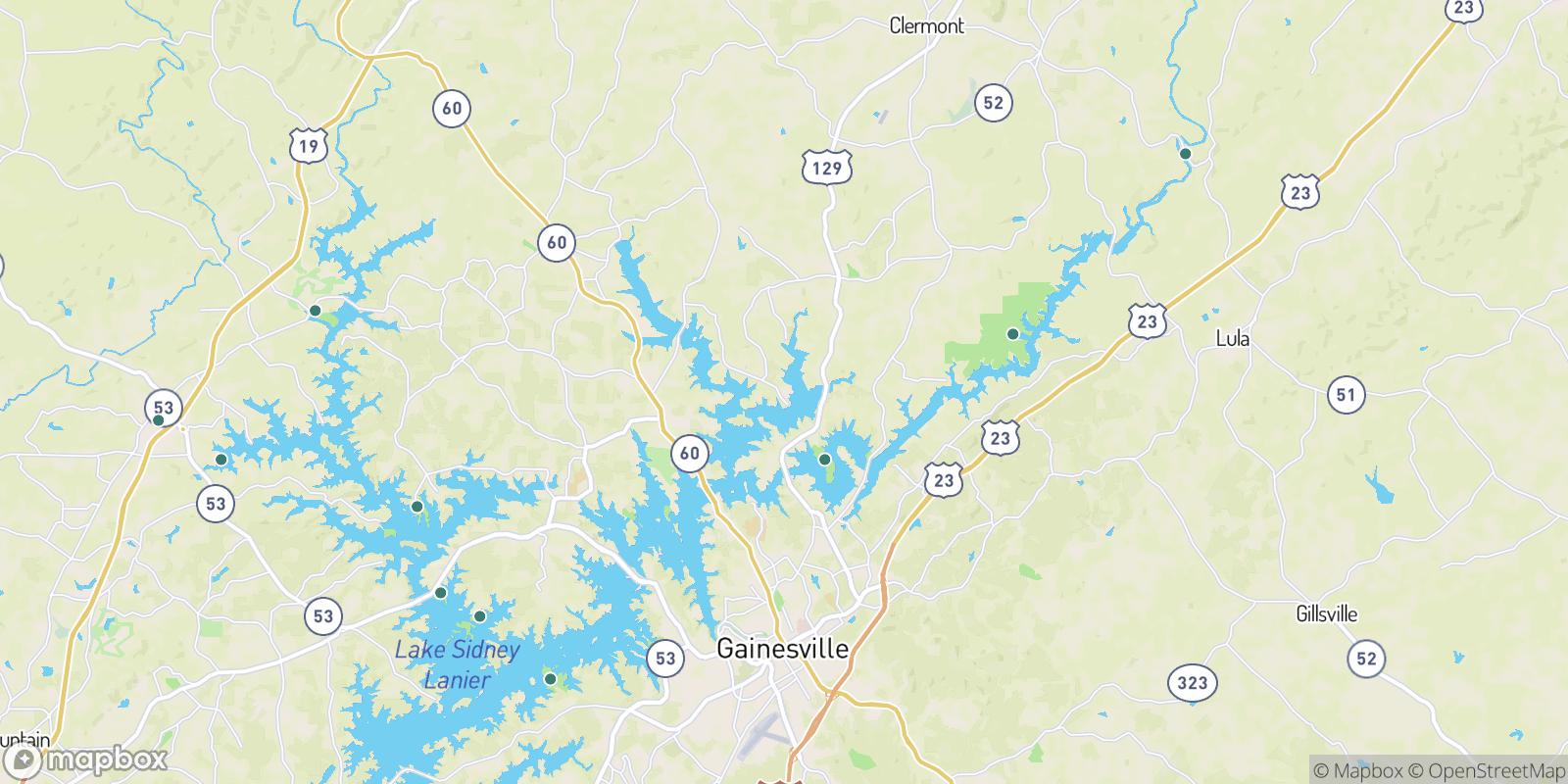 The best camping near Cherokee Meadows, Georgia