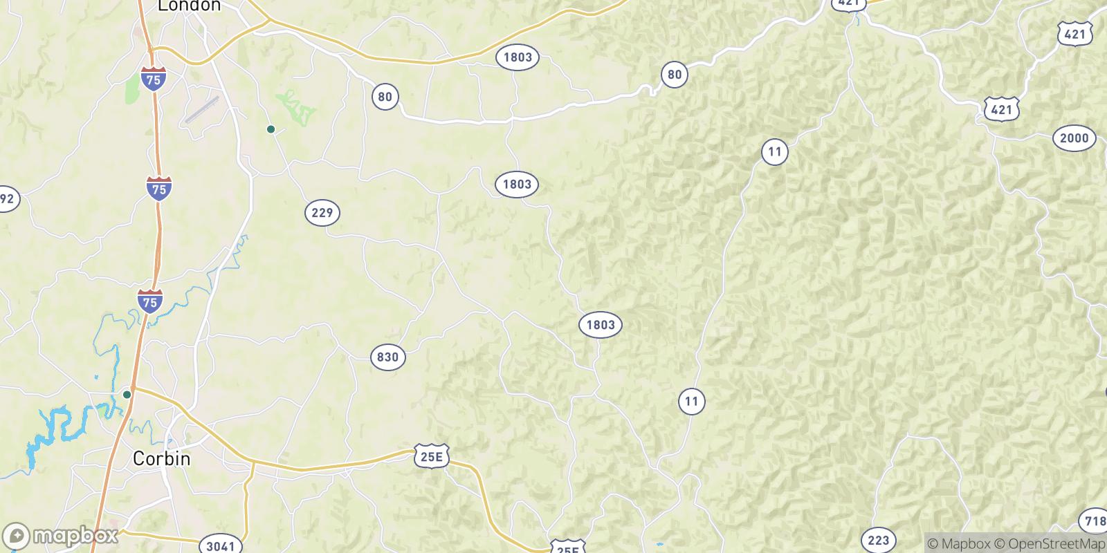 The best camping near Gibbs, Kentucky