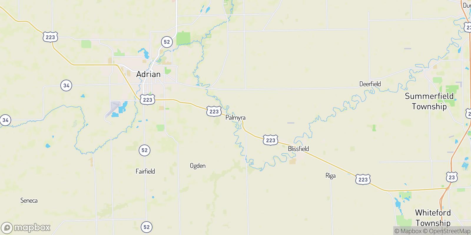 The best camping near Palmyra, Michigan