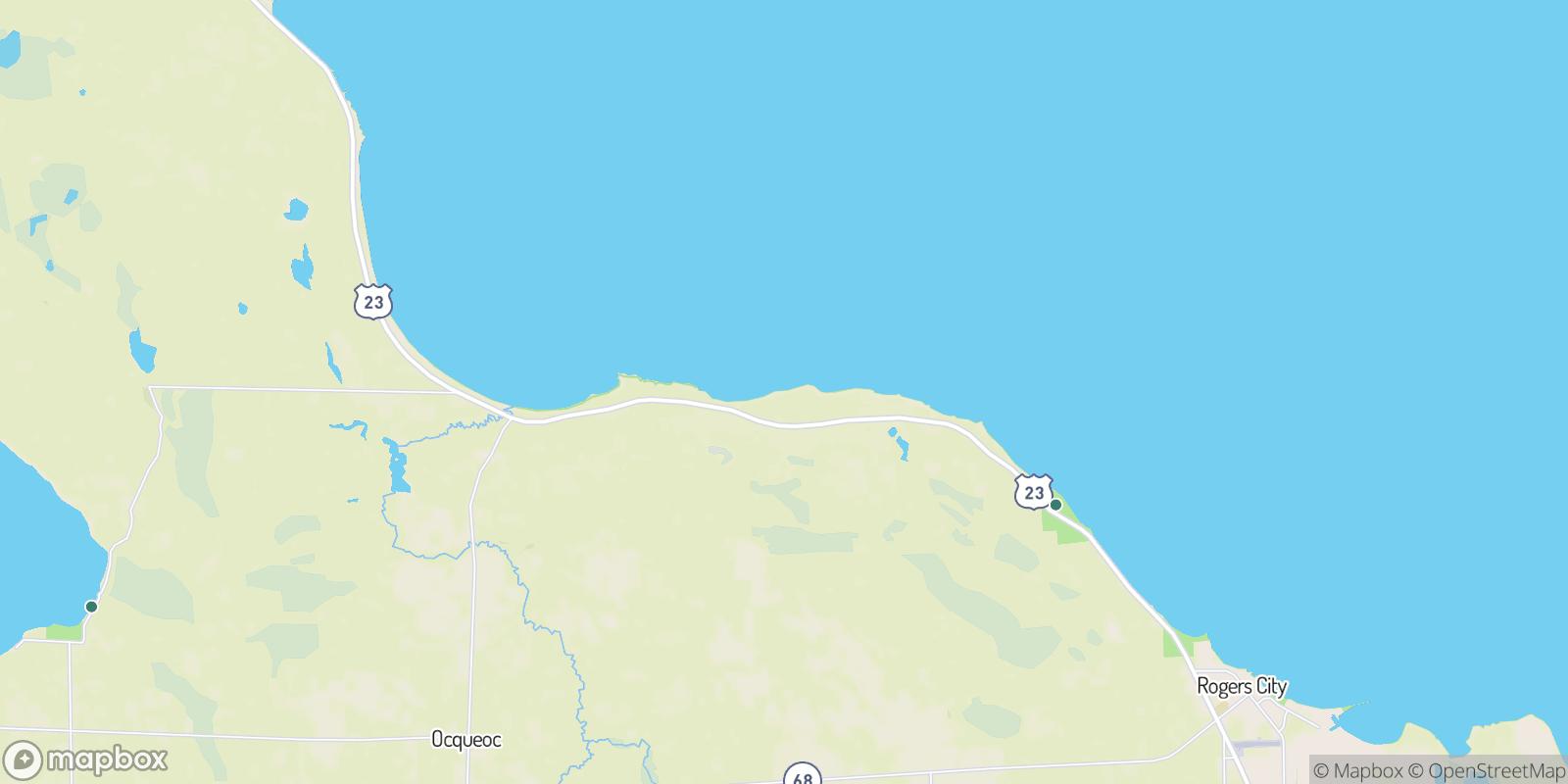 The best camping near Evergreen Beach, Michigan