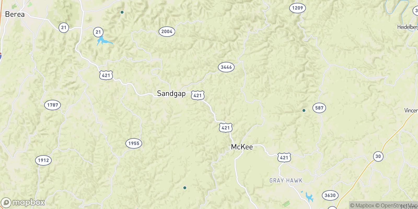 The best camping near Waneta, Kentucky