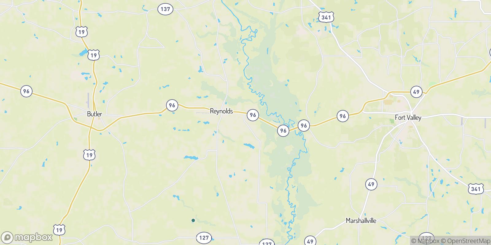 The best camping near Beechwood, Georgia
