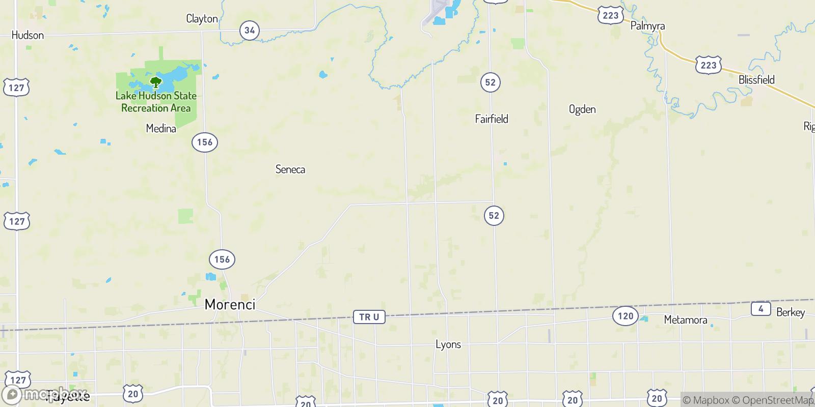 The best camping near Weston, Michigan