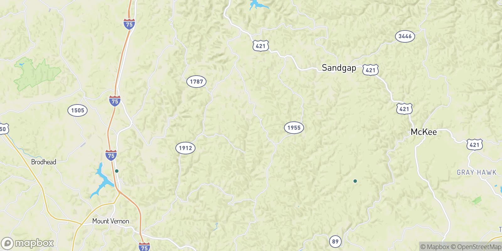 The best camping near Goochland, Kentucky