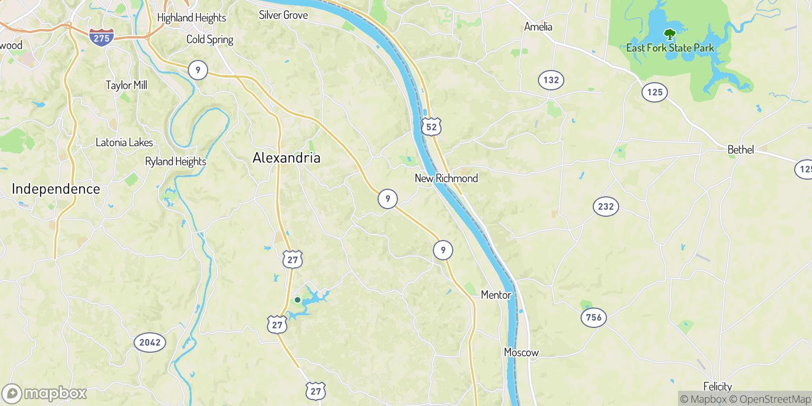 The best camping near Carthage, Kentucky
