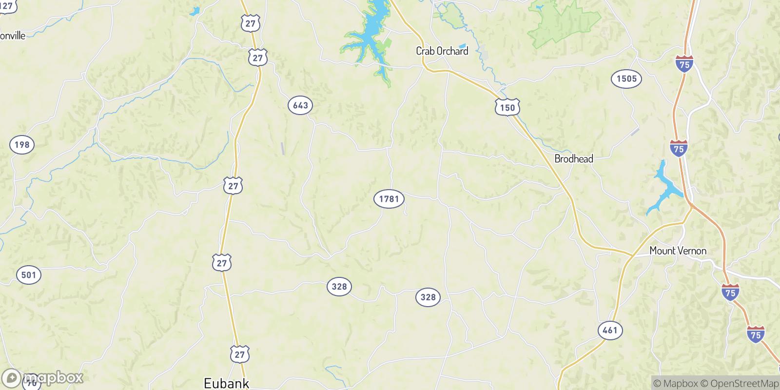 The best camping near Broughtentown, Kentucky
