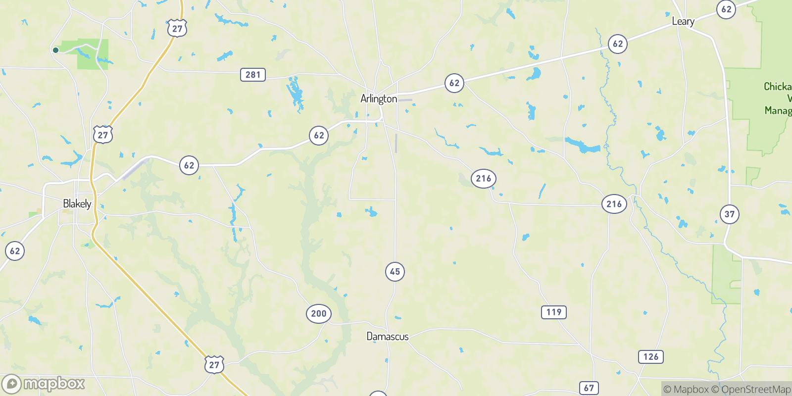 The best camping near Rowena, Georgia