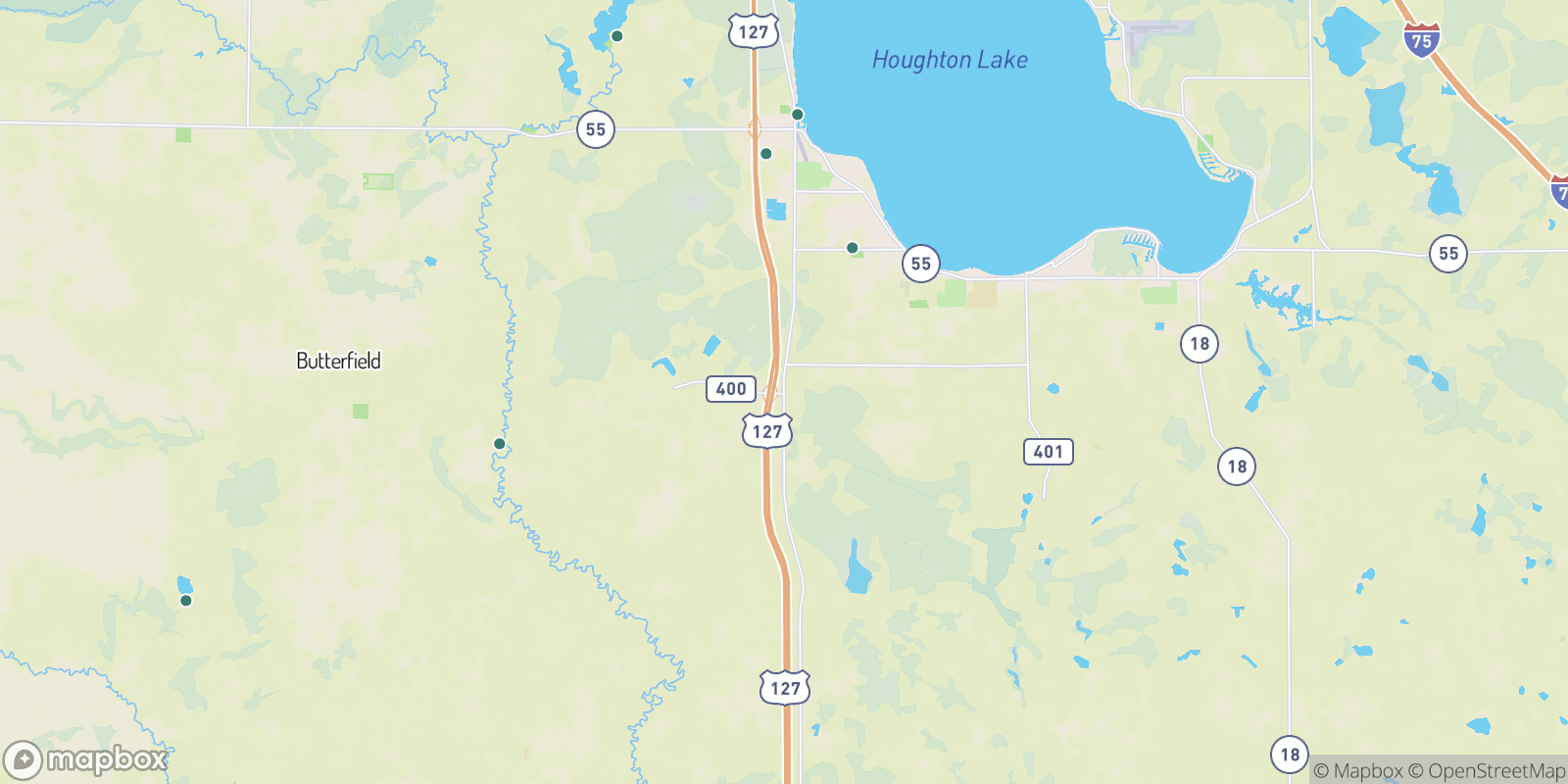 The best camping near Loxley, Michigan