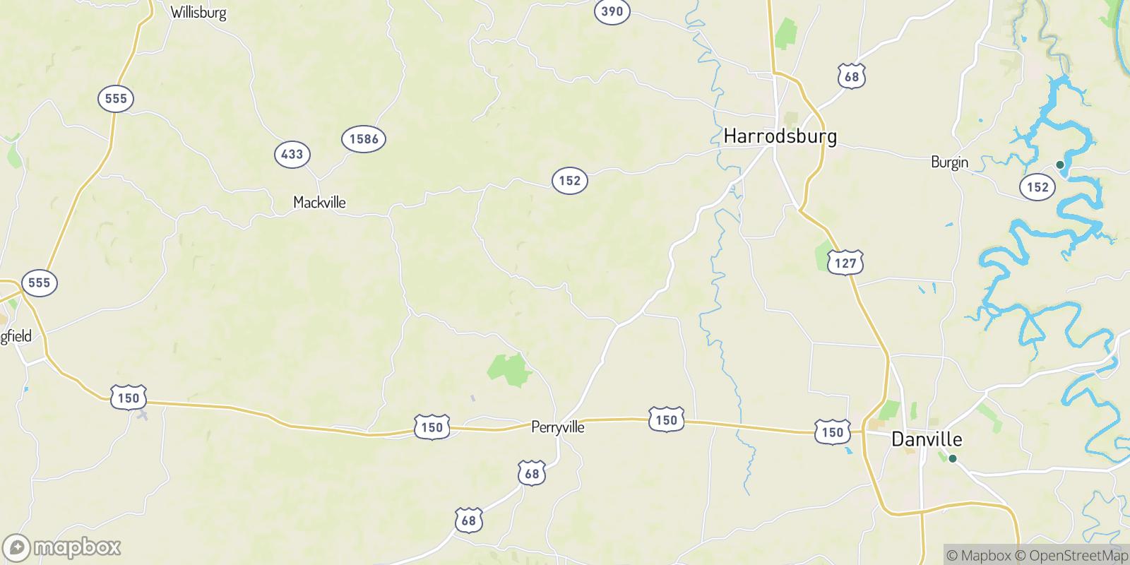 The best camping near Dixville, Kentucky