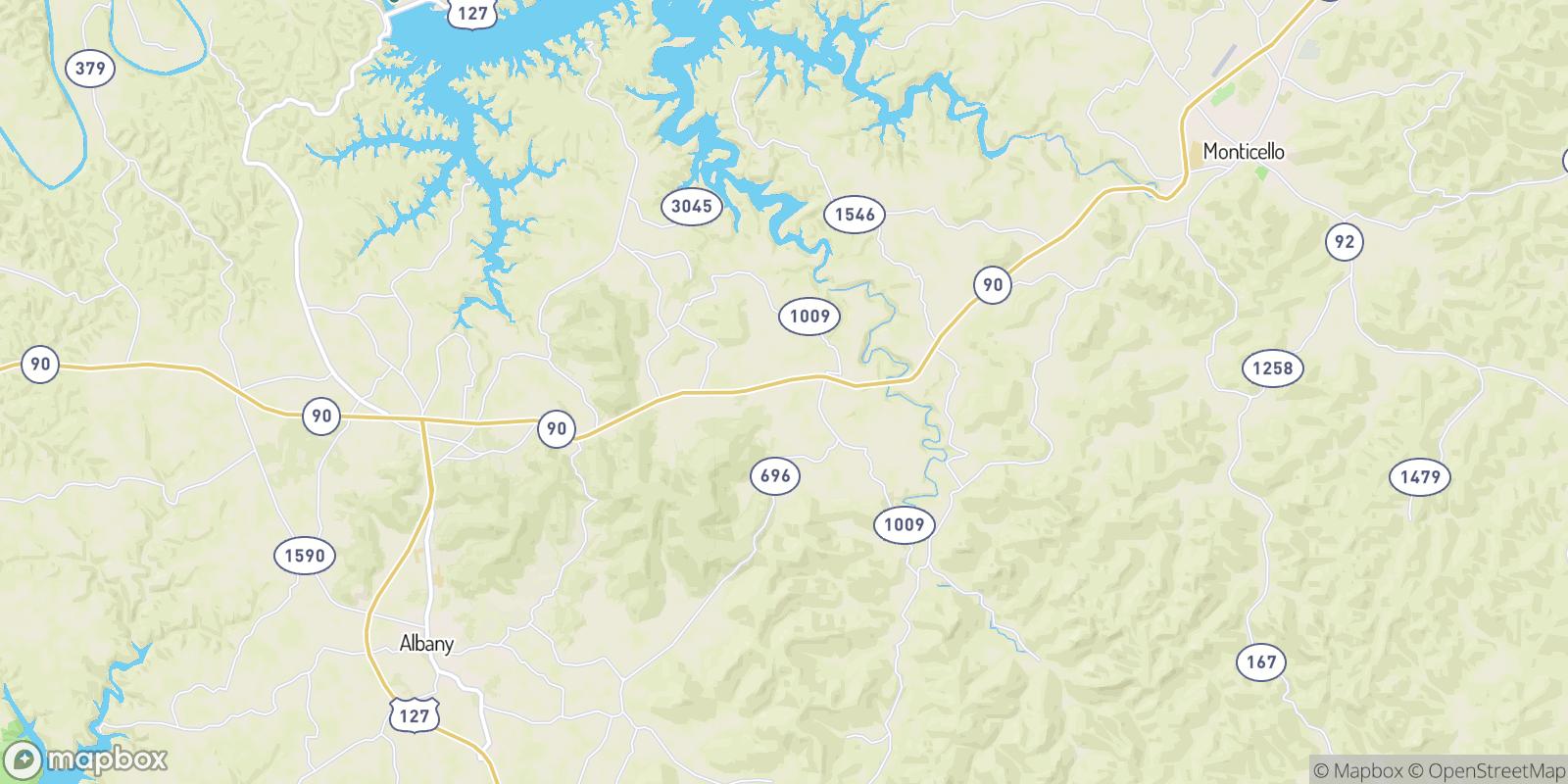 The best camping near Alpha, Kentucky