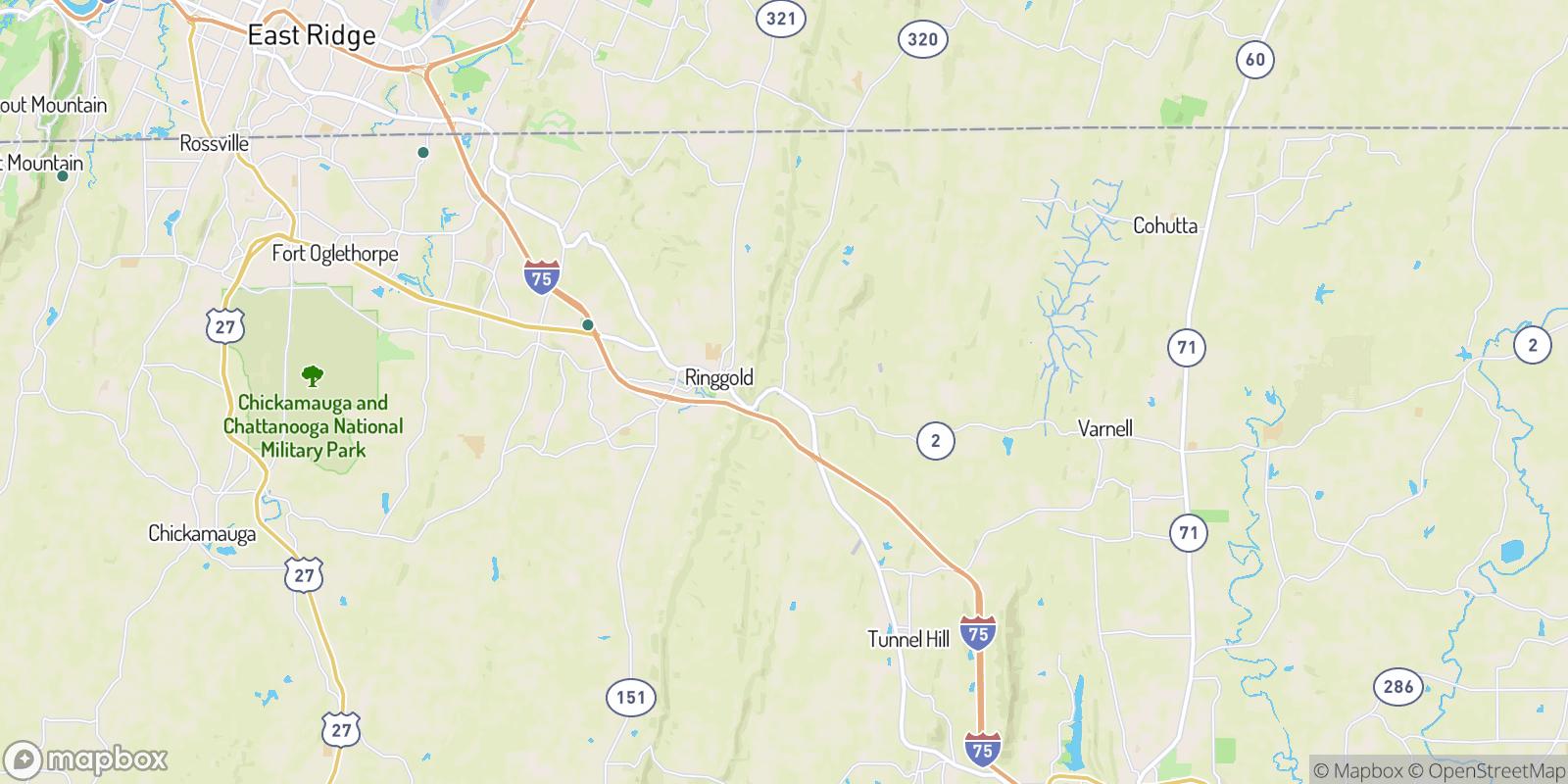The best camping near Shookville, Georgia