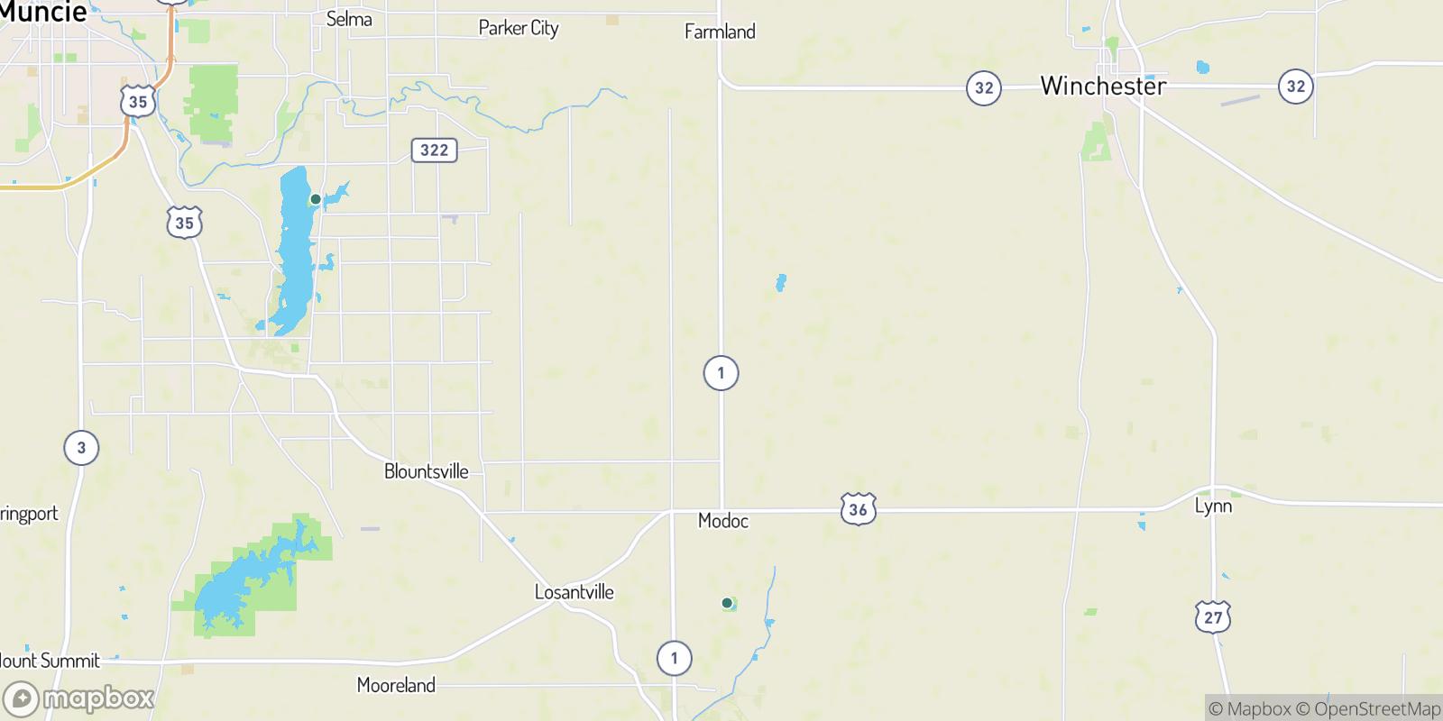 The best camping near Scott Corner, Indiana